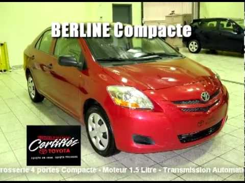 2008 toyota yaris berline compacte u3680 youtube. Black Bedroom Furniture Sets. Home Design Ideas