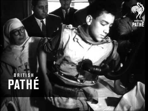 New Iron Lung For French Hospital (1949)