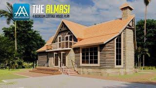 Almasi  Cottage 4 Bedroom House Plan