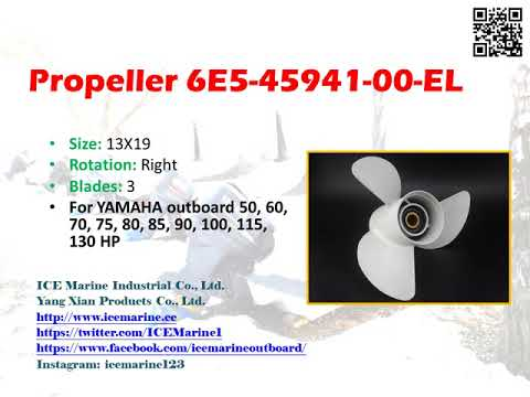 Outboard Marine 6E5-45941-00-EL from ICE Marine Industrial Co., Ltd.