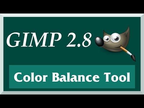 How to Use the Color Balance Tool | GIMP 2.8 Tutorial