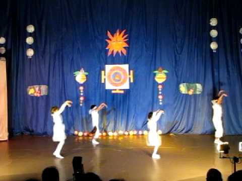 BARSO RE MEGHA - MICHURINSKY KIDS, DURGA PUJA 2011 Travel Video