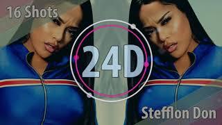 Обложка Stefflon Don 16 Shots 24D AUDIO Lyrics