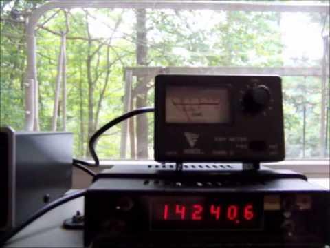 Stealth Gutter Antenna For Ham Radio Or Short Wave Youtube