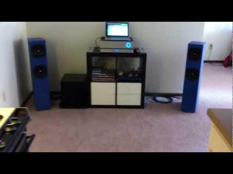 DIY Full Range Speakers - YouTube