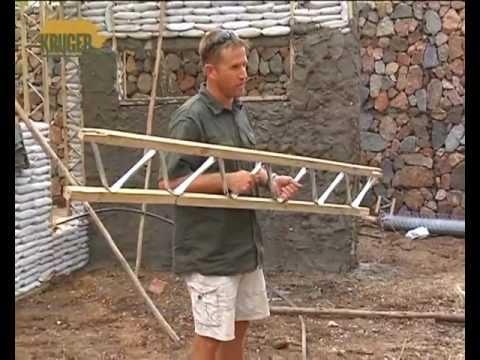 Ecosteps How To Build A Sandbag House Eco Friendly Youtube