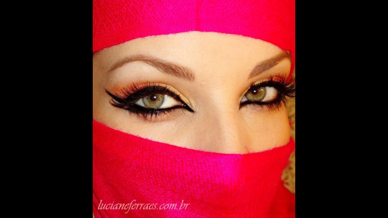 Populares Make Árabe, com inspiração na Jade da novela O Clone - YouTube BN56
