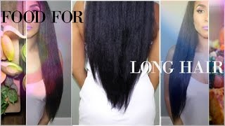 How to grow long hair FAST  ep2 NUTRITION