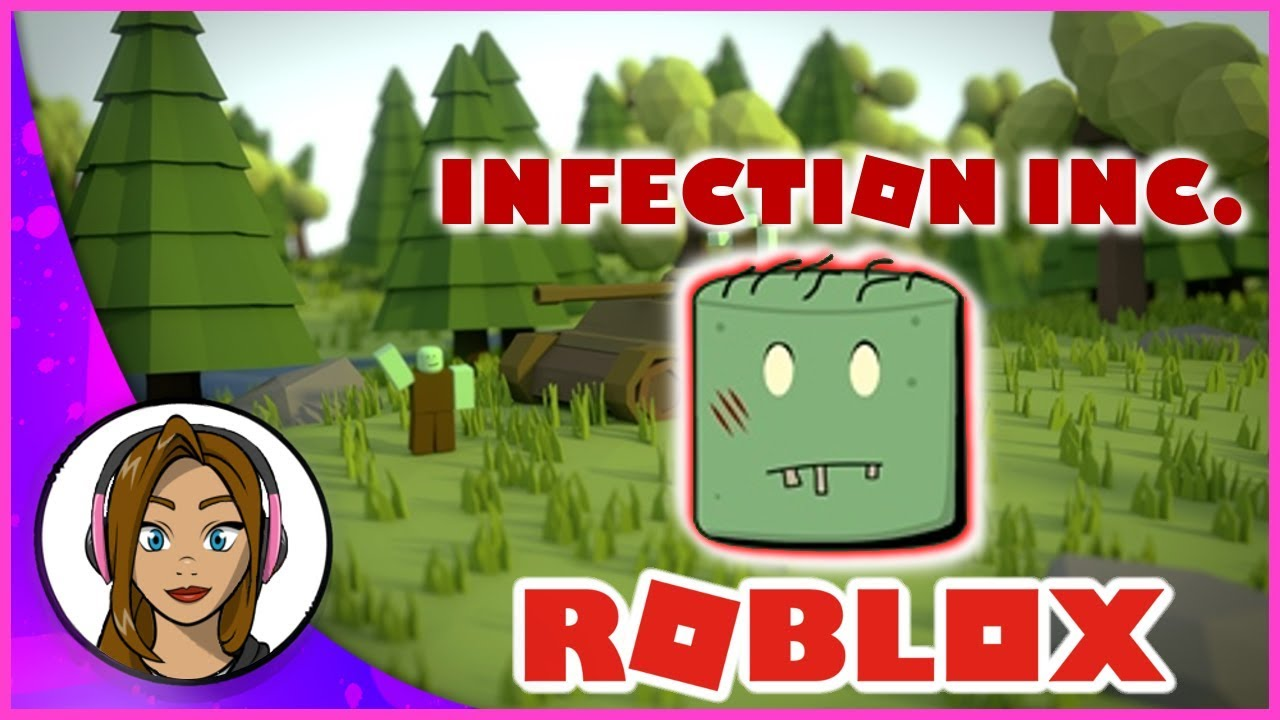 WHAT IF I MADE ZOMBIES - Roblox Infection Inc Gameplay