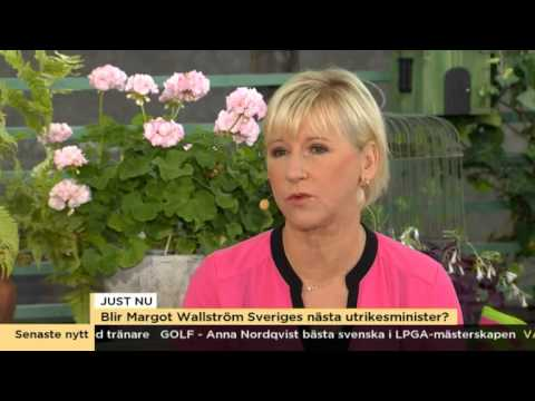 Margot wallstrom tillbaka i svensk politik