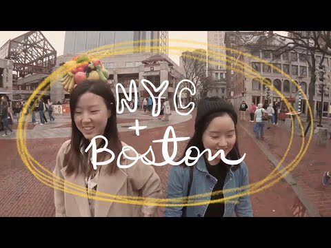 NY/NJ-Boston Road Trip