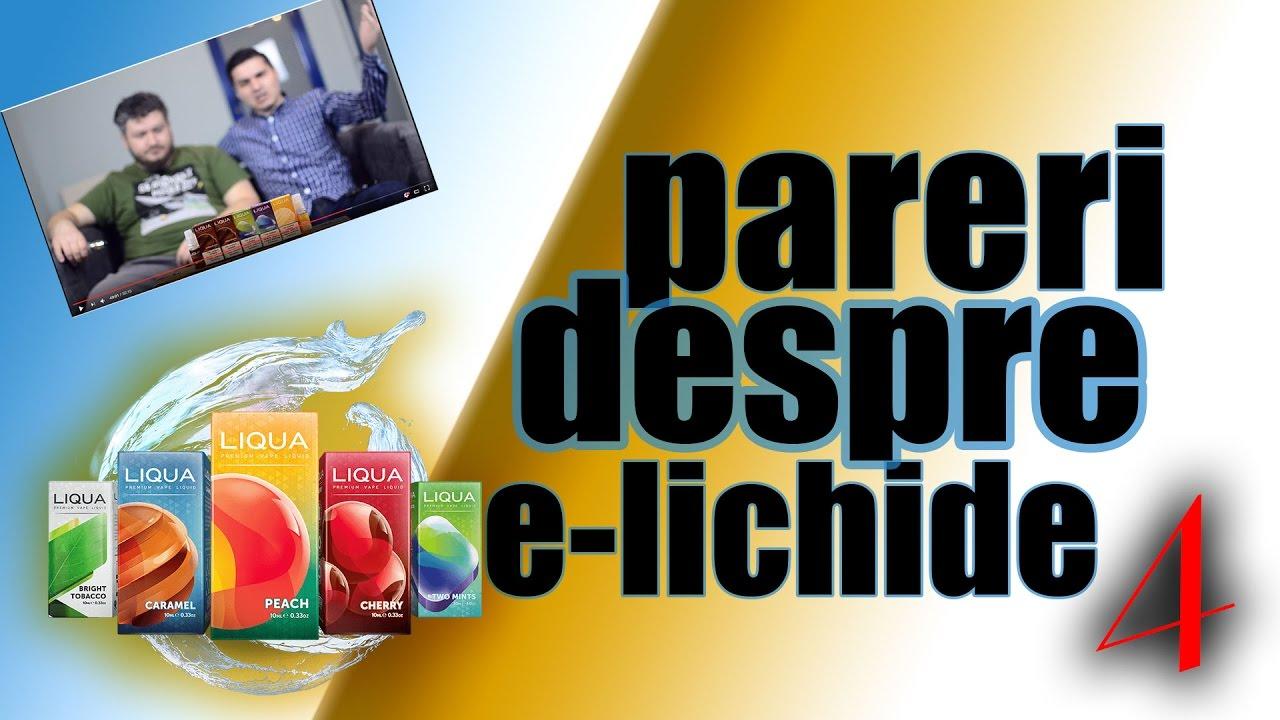 Pareri despre e-lichide 4: Liqua Berry Mix, Cola, Blackcurrant, Cafea, Black Tea, Vanilla