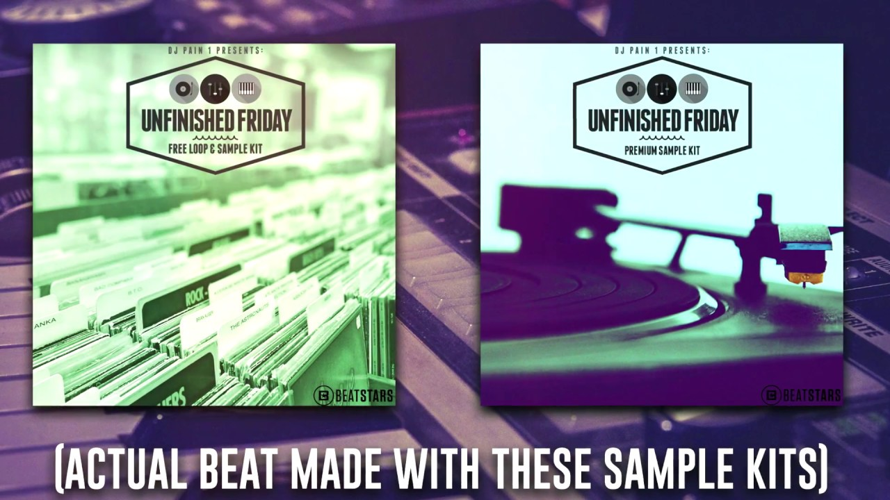 Free Sample Packs 2018 - Unfinished Friday Kits [Free Samples For FL Studio/Ableton/Maschine/Logic]