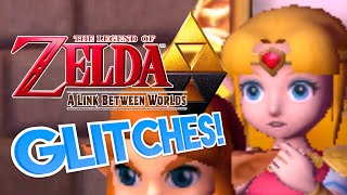 Zelda: A Link Between Worlds GLITCHES! - What A Glitch!