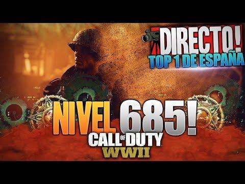 SUBIENDO NIVELES! | TOP 1 DE ESPAÑA | CALL OF DUTY: WW2