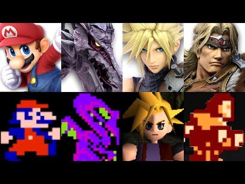 Super Smash Bros. Ultimate - Origin of All Characters