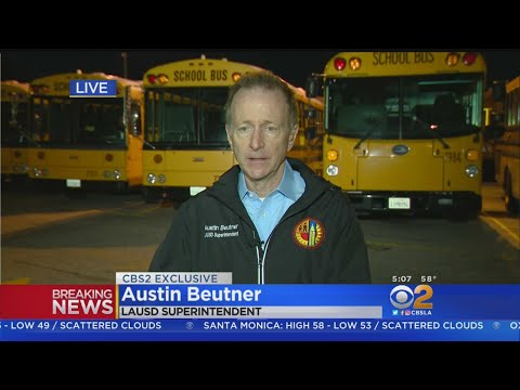 Exclusive: LAUSD Superintendent Says 'It Will Be A Normal Day At School'
