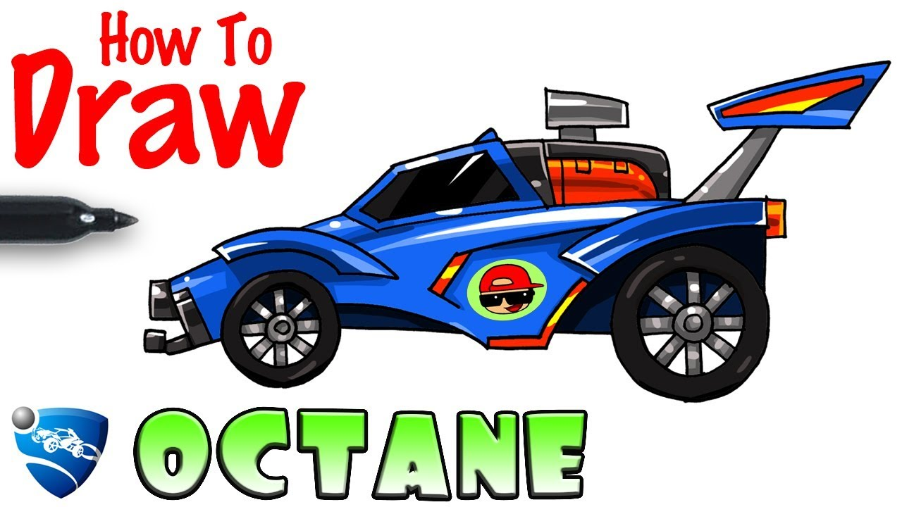 How To Draw Octane Rocket League Youtube Josh sketch barker (born may 1, 2002) is an english rocket league player. how to draw octane rocket league