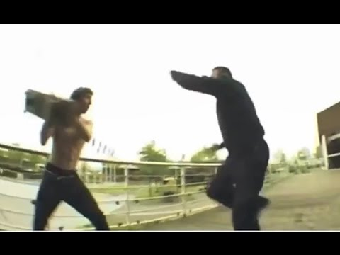 INSTABLAST! - Gnarly Skater Vs Security Fight! Sliding In The Rain! Hill Bomb Into Traffic!!