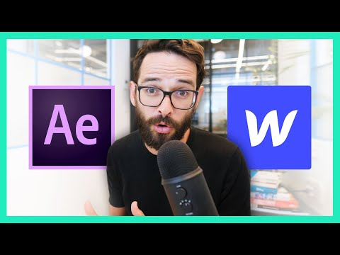 Adding After-Effects Animation To Your Webflow Website (Lottie Integration)