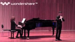 C. Saint-Saënts Oboe Sonata in D II Ad libitum-Allegretto-Ad libitum