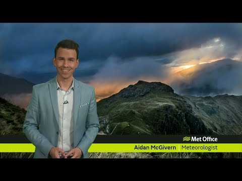 Friday morning forecast 23/11/2018
