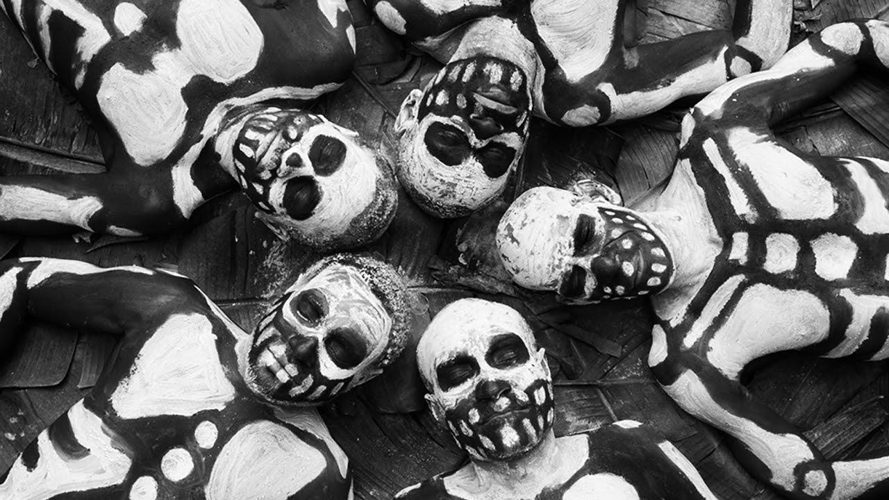 The Skeleton Warriors Of Papua New Guinea