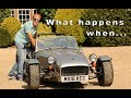 Ageing bloke gets in a Caterham 7  - what was it like ?
