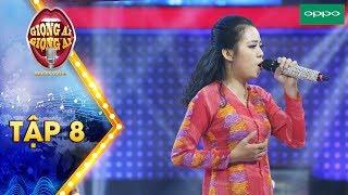 Giọng ải giọng ai 3|Tập 8: Cả sân khấu lặng thinh với cô gái hát Người đàn bà hóa đá của Bức Tường