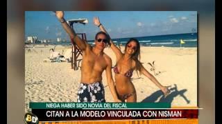 Citan a modelo vinculada con Nisman - Telefe Noticias
