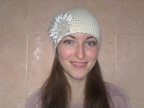 Вязаная  шапка крючком.Crochet hat
