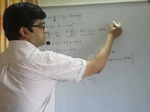 Cauchy's DIfferential Equation|Sem2|Engg. Maths
