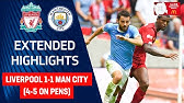 Liverpool 1-1 Man City (4-5 on pens)Jesus &amp Bravo Shine in Shoot OutFA Community Shield