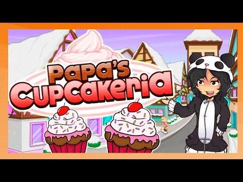 FAÇA OS SEUS PRÓPRIOS CUPCAKES – Papa's Cupcakeria