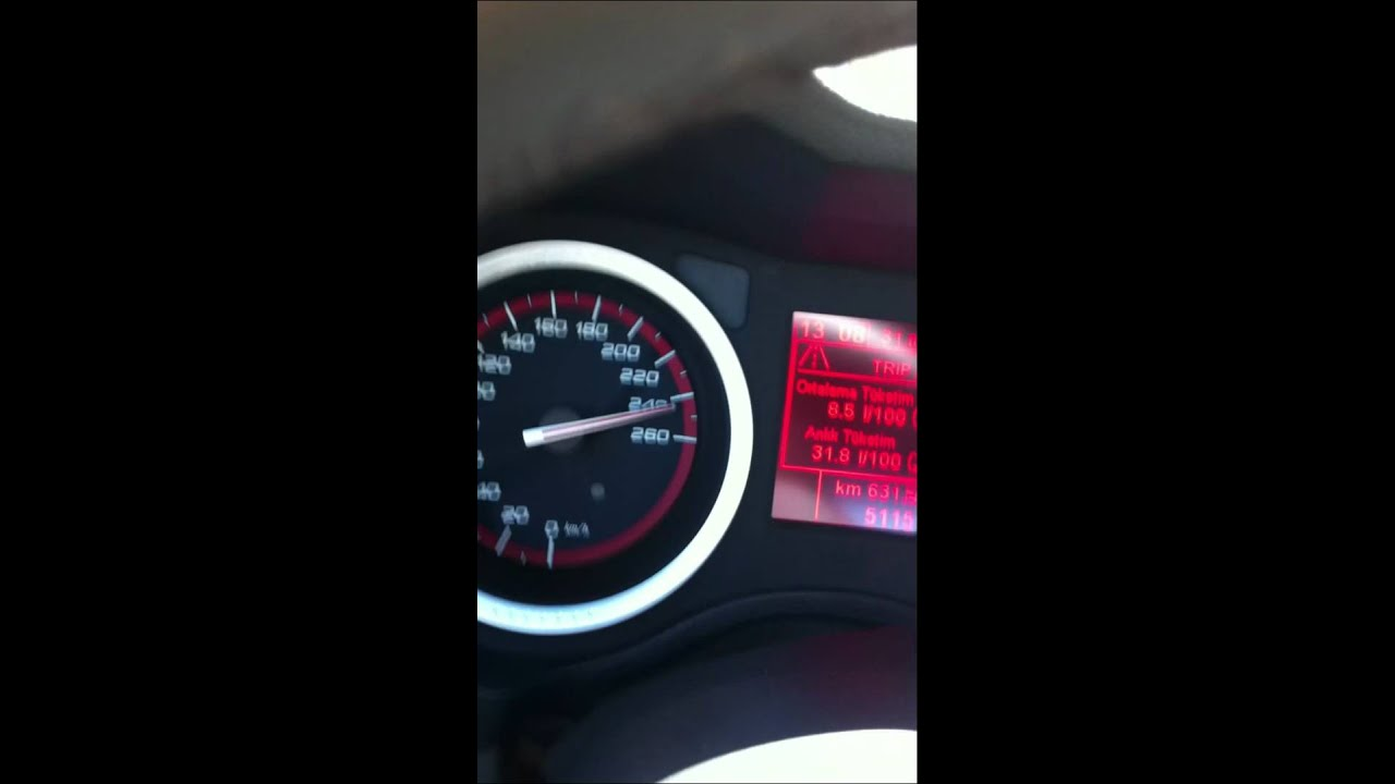 Alfa romeo 159 ti top speed