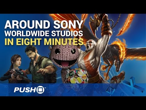 Around Sony Worldwide Studios in 8 Minutes | PS4 Exclusives | Feature