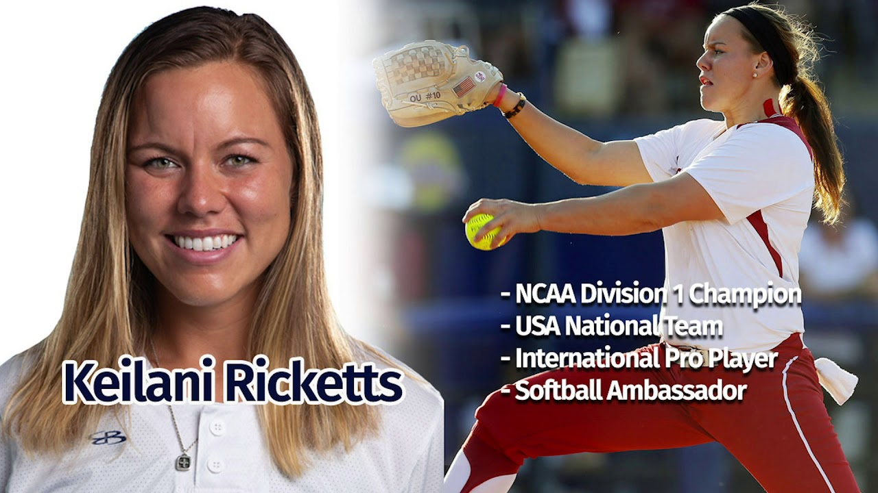 Keilani Ricketts is the gold standard of high performance for polynesian softball players