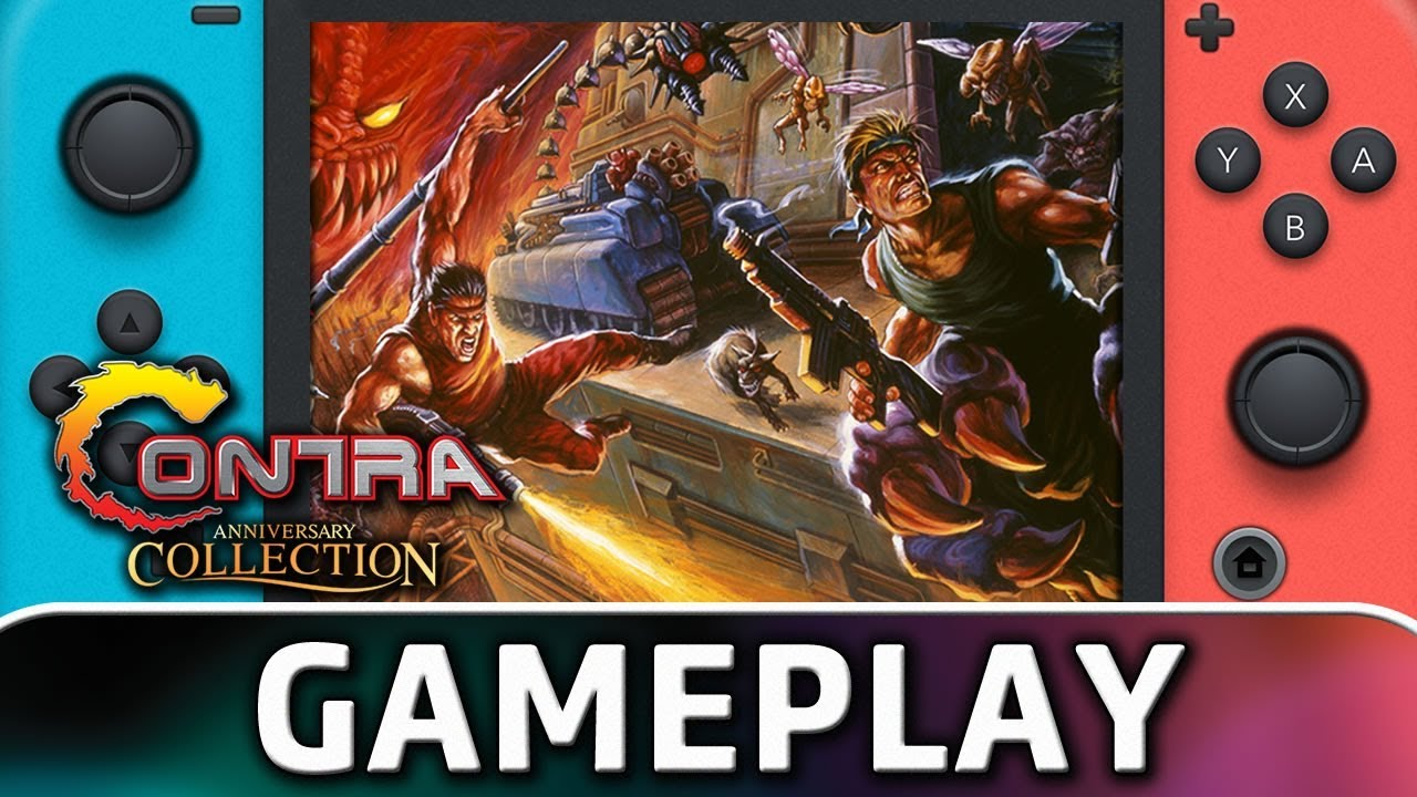 Contra Anniversary Collection | First 20 Minutes on Nintendo Switch
