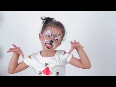 إزاى رسومات على وجه الأطفال Youtube