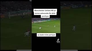 Manchester United 40 yıl sonra sahasında ilk defa yeniliyor ve bakın kim yeniyor