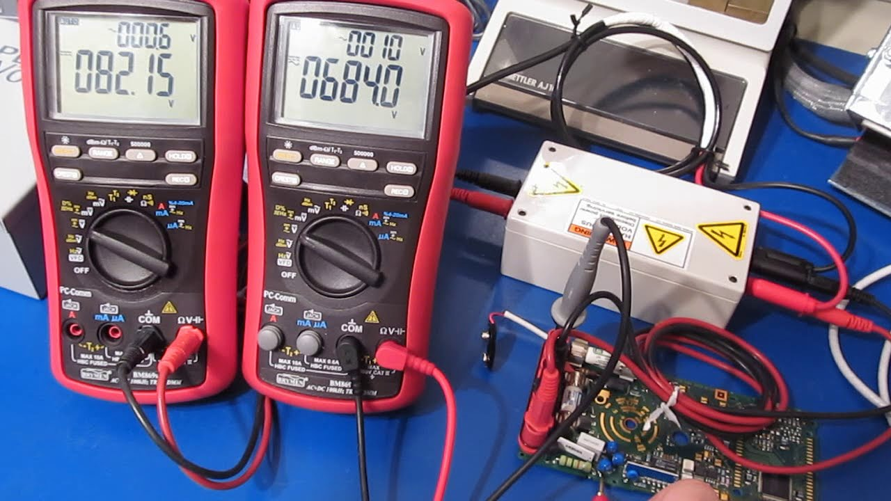 Fluke 87v Robustness Tests, Part 7 Another Look At The Rev 10 Pcb  Joe  Smith 38:29 HD