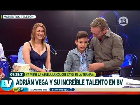 Adrián Vega sacó el lado más tierno de Tonka y Martín | Bienvenidos
