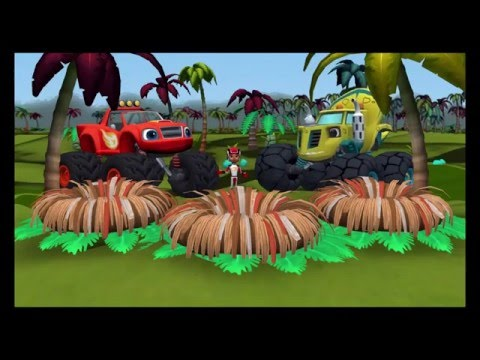 Blaze and the Monster Machines Dinosaur Rescue By Nickelodeon  Complete Gameplay