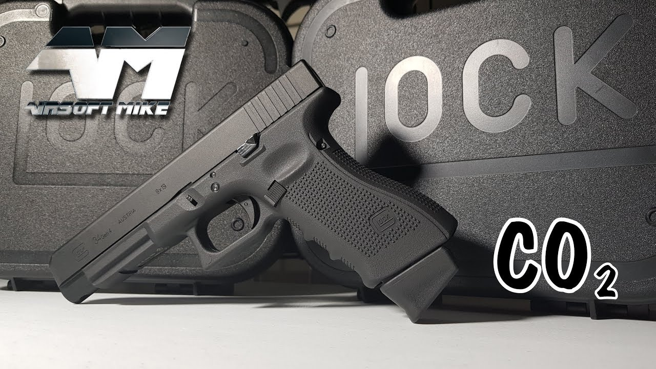 UMAREX GLOCK 34 CO2 DELUXE / Elite Force Officially Licensed Airsoft Glock  34 / Unboxing / VFC
