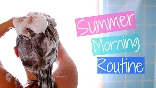 One of Carrie Rad's most viewed videos: My Summer Morning Routine!