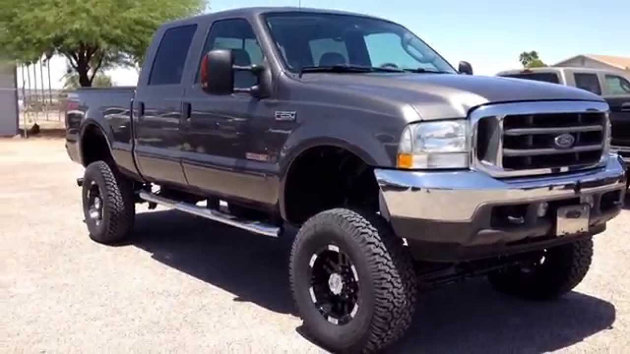 2003 ford f250 diesel lifted 4x4 bulletproofed egr youtube