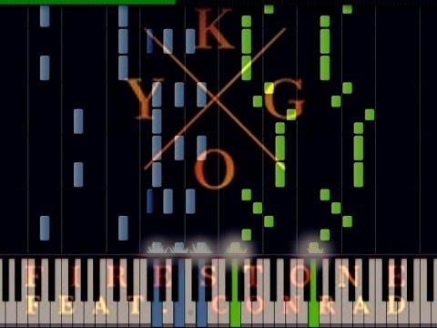 Piano : firestone kygo piano chords Firestone Kygo Piano also ...