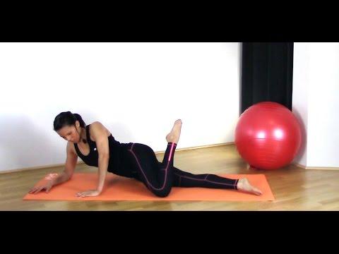 FREE BARRE PILATES LEG WORKOUT - Back of Leg Mat Workout BARLATES BODY BLITZ