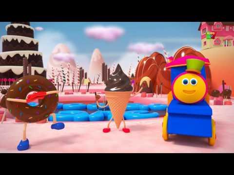 bob il treno | corsia cioccolato | bambini canzoni | Bob The Train | Chocolate Lane | Baby Song