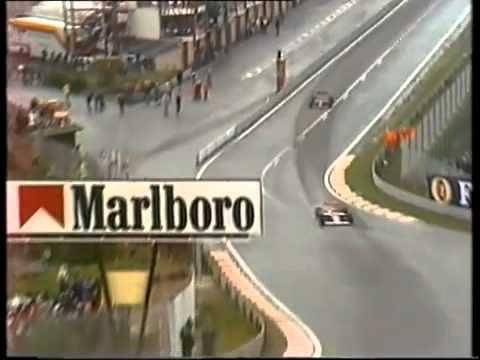 Belgian Grand Prix 1989 - Prost vs. Mansell